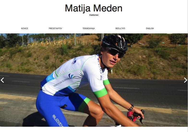 Matija Meden – triatlonec